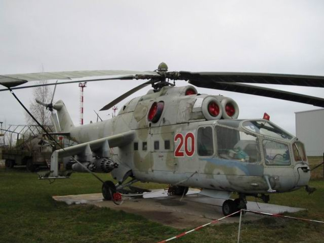 Mi-24A helikopters