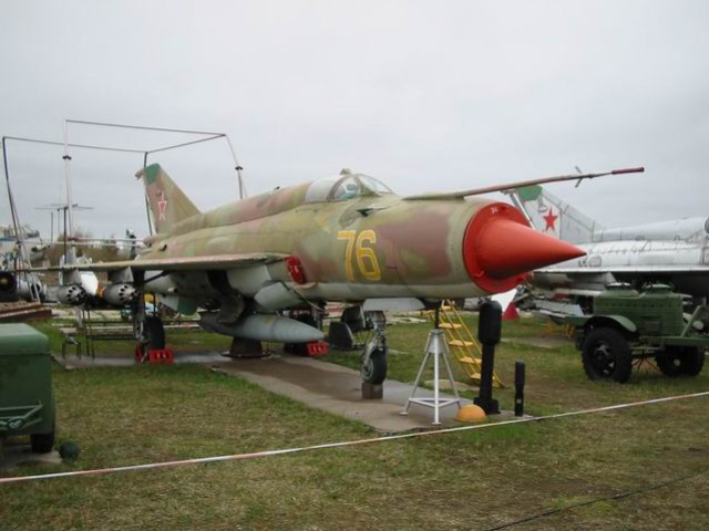 Mig-21BIS - Single-seat multi-role fighter