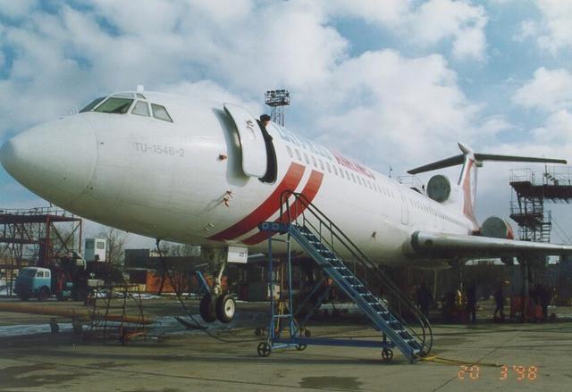 Ту-154Б-2 – Дальнемагистральный пассажирский самолёт