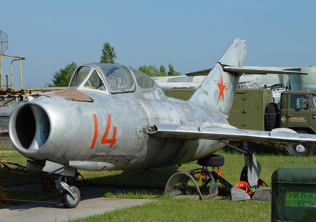 MiG-15UTI - Two-seat dual-control jet trainer