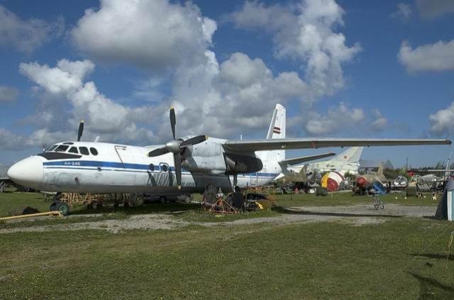 An-24B – Pasažieru lidmašīna vidējā garuma aviolīnijām