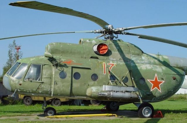 Mil Mi-8T transport helicopter