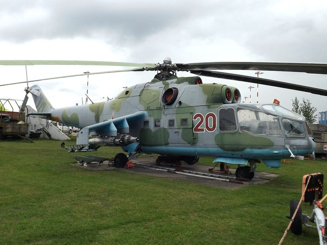 Mil Mi-24 combat helicopter